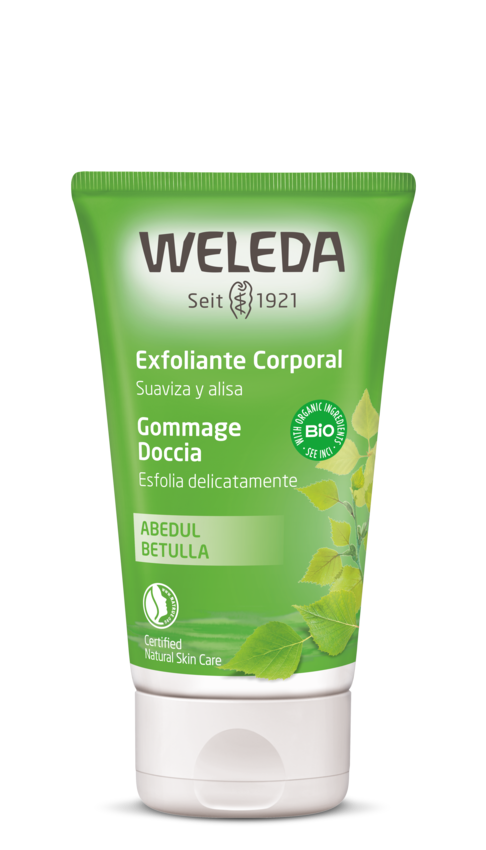 WELEDA birch exfoliant