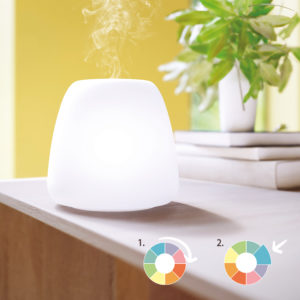 Pranarom JOY Ultrasonic Essential Oil Diffuser with Light Ambiance and Changeable Lights